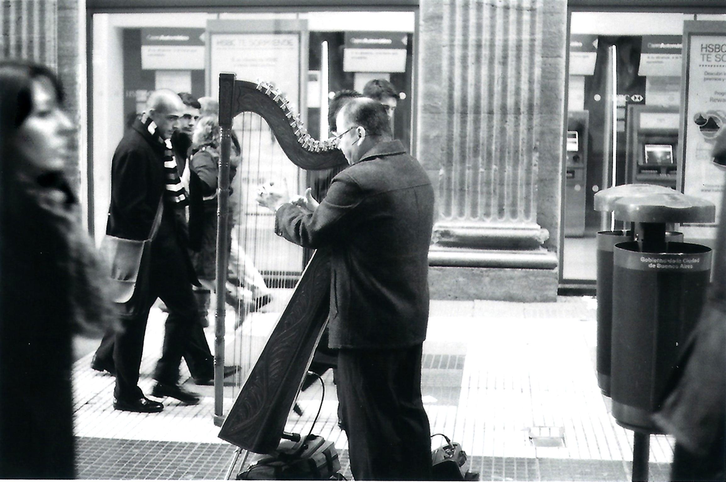 Joueur de harpe BA 2