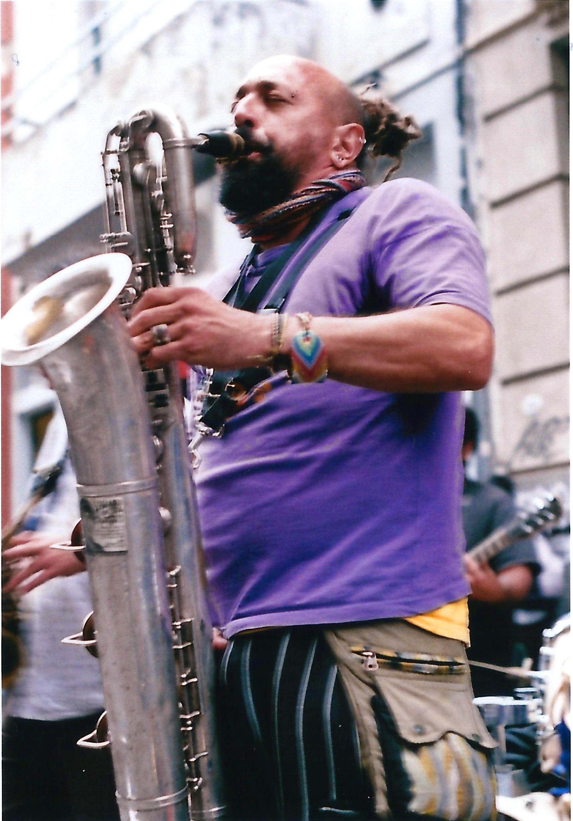 Saxophoniste BA